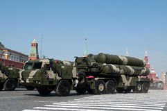 The S-400 Triumf Royalty Free Stock Images