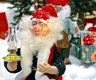矮子s圣诞老人 免版税库存照片