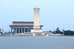 люди s памятника героев к Стоковое фото RF