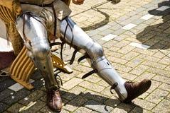 ноги s рыцаря Стоковая Фотография