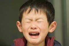 儿童表达式s 库存照片