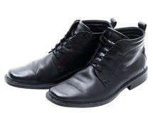 зима людей s ботинок кожаная Стоковые Фото