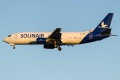 S5-ABV Solinair, Boeing 737-4K5 (SF) Image libre de droits