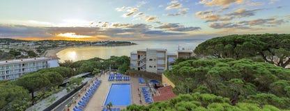 S'Agaro, Costa Brava, Spanien lizenzfreies stockfoto
