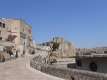 S.Agostino Monastery. Matera: view of S.Agostino Monastery Stock Photos