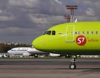 S7 Airbus 320 Fotografía de archivo libre de regalías