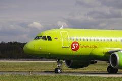 S7 Airbus 320 Foto de archivo