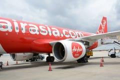 ` S Airbus A320 da Índia de AirAsia Fotos de Stock