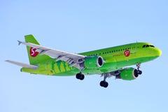 S7 Airlines Airbus A320 Fotografia de Stock Royalty Free