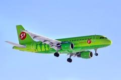 S7 Airlines Airbus A319 Lizenzfreies Stockbild