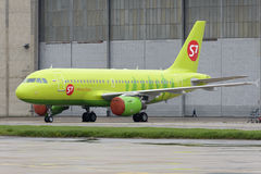 S7 Airlines Airbus A319 Imagem de Stock Royalty Free