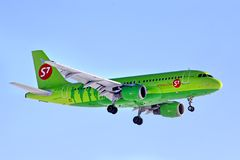 S7 Airlines Airbus A319 Royalty Free Stock Image