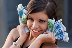 It's all about money Royalty Free Stock Images