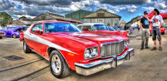 1970S American Ford Torino Royalty Free Stock Images