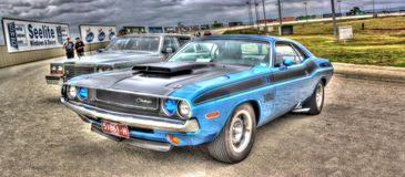 1970s American muscle car Stock Photos