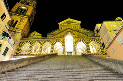 S. Andrew Duomo di Amalfi  Italia Royalty Free Stock Photos
