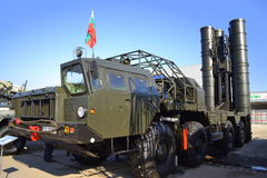 S-300 anti-aircraft missile system Stock Photos