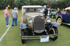 1930s antique american frontin lineup Royalty Free Stock Photography