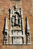 S. Apollinare church, detail, in Venice, Italy Stock Photo