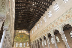 S. Apollinare in Classe (Ravenna) Royalty Free Stock Photos