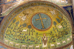 S. Apollinare in Classe (Ravenna) Stock Photography