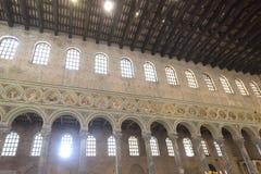 S Apollinare i Classe (Ravenna) Arkivbild