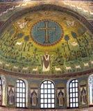 S Apollinare i Classe (Ravenna) Arkivbilder