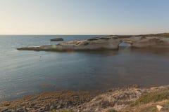 S'Archittu Santa Caterina Σαρδηνία Στοκ φωτογραφίες με δικαίωμα ελεύθερης χρήσης