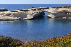 S`Archittu - Sardinia - Italy stock photography
