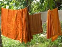 s'arrêter de 3 robes longues Photo libre de droits
