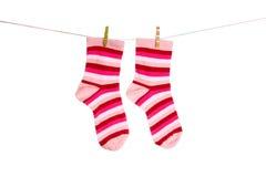 S'arrêter de chaussettes image stock