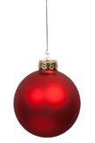 S'arrêter rouge de bille de Noël Image stock