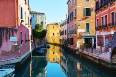 S Arredores do polo, Veneza, Itália imagens de stock