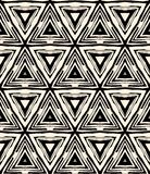 1930s art deco geometric pattern with triangles royalty free illustration