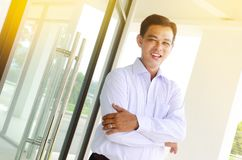 Confident asian businessman Royalty Free Stock Photography