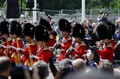 S'assemblant la couleur, Londres 2012 Images stock