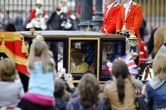S'assemblant la couleur, Londres 2012 Photos libres de droits
