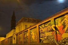 Sławna graffiti ulica w Ghent Zdjęcia Stock
