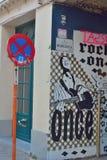 Sławna graffiti ulica w Ghent Zdjęcie Stock