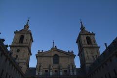 Sławna katedra w Escorial. Zdjęcia Royalty Free