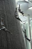 Sławna siklawa w Dubaj Malll UAE Zdjęcia Stock