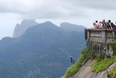 Sławna statua Chris w Rio De Janeiro Fotografia Stock
