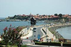sławnego wyspy nesebar miejsca popularny turystyczny Obraz Stock