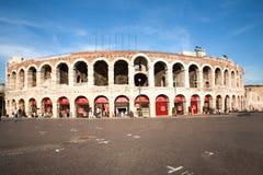 Sławni aren di Verona stary Zdjęcia Royalty Free