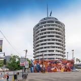 Sławni Hollywood Capitol rejestry Obrazy Stock