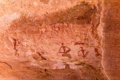 Sławni prehistoryczni rockowi rytownictwa Obraz Stock