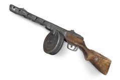 sławny armatni sowiecki submachine Ussr Zdjęcia Stock