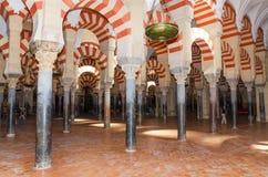 Sławny cordoba meczet, cordoba, Hiszpania Zdjęcia Stock