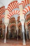 Sławny cordoba meczet, cordoba, Hiszpania Obrazy Stock