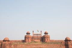 Sławny Czerwony fort Zdjęcie Stock